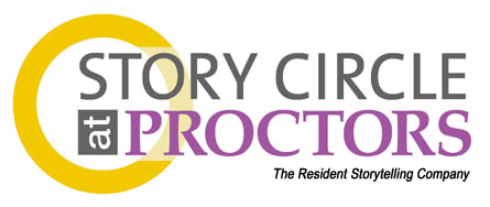 Logo for Story Circle at Proctors